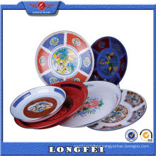 Various Type Fashion Enamel Decorative Color Plate