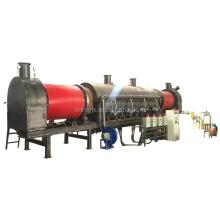 Continuous efficient sludge carbonization system for sale of 40Ft wood charcoal making machine