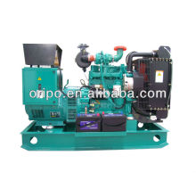 DC 24v electric start 38kva/30KW small power generator set with Cummins engine 4BT3.9-G2