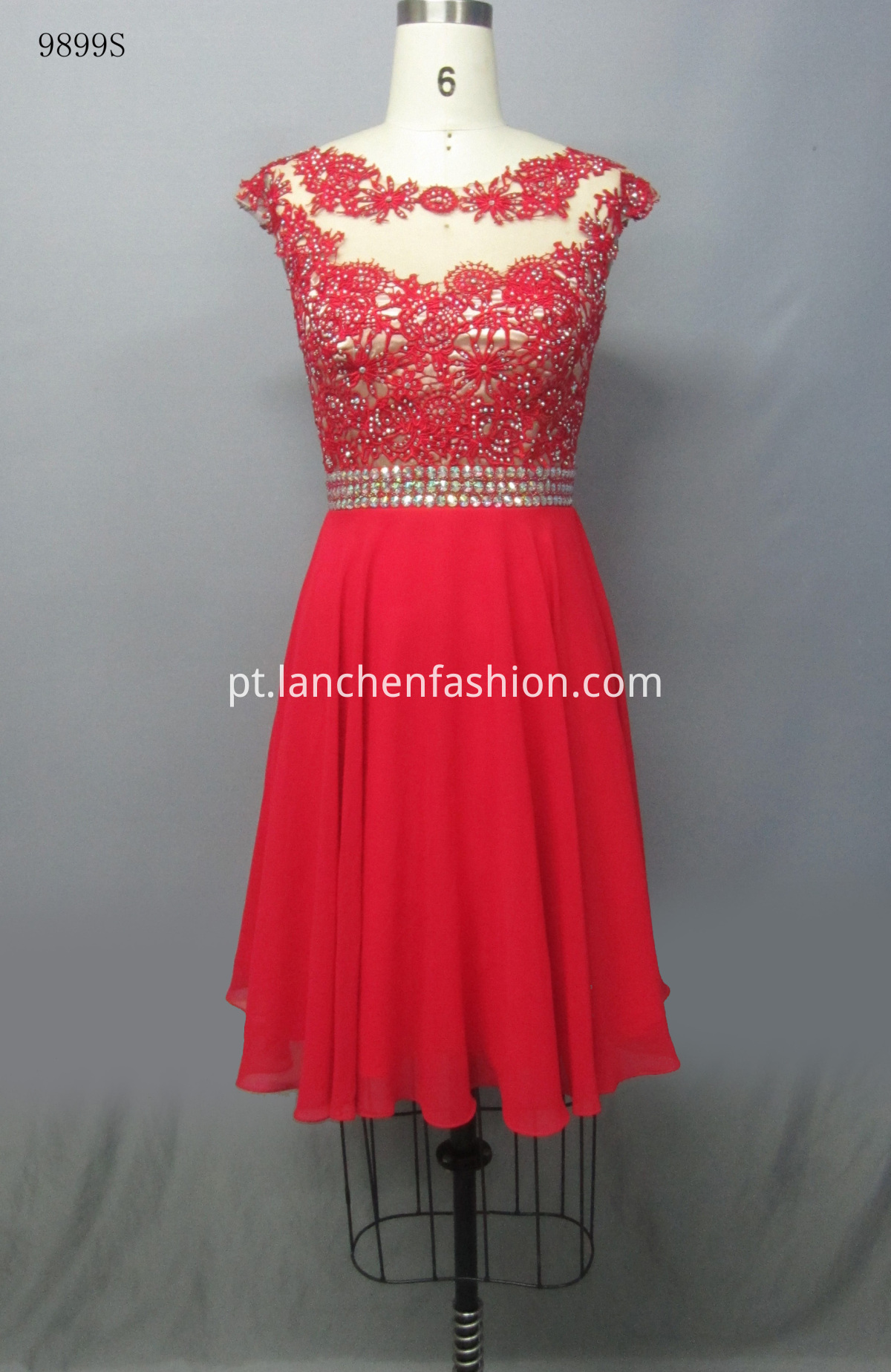 Cocktail Evening Dress RED