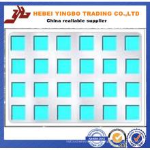 Fachada de edificio Panel de aluminio compuesto perforado / tableros perforados del metal