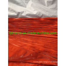 Cheap Price with Top Quality Orange Silver Tarpaulin Shelter