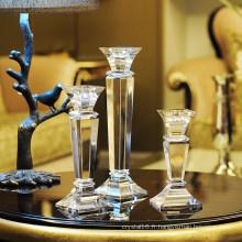 Chandelier en cristal, décoration de style européen, bougeoir de mariage