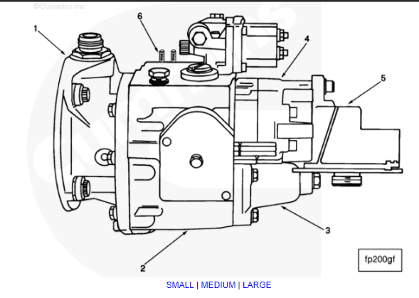 pt fuel pump diagram