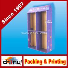 Photo Frame Album Paper Corrugated Board Pallet Display (6114)