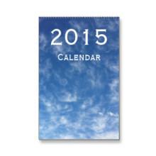 Wandkalender mit 2015 Drucken Soem