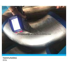 Inspecionando Material Ss303se Cotovelo Sem Emenda De Aço Inoxidável