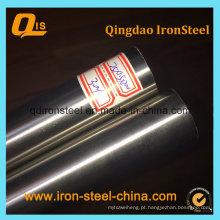 Tubulação de aço soldada inoxidável 304 polida