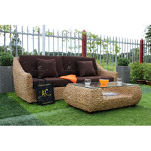 Hot Sales 2017 Indoor Natural Water Hyacinth Sofa Set from Vietnam