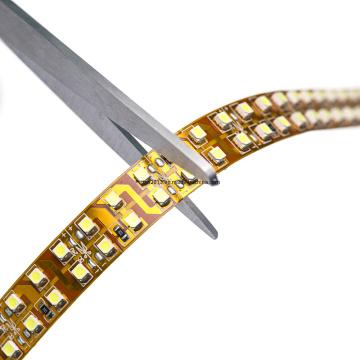 3528 240LEDs 12 / 24V Tira flexible de LED de doble fila