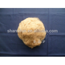 100% pure dehaired Inner Mongolian brown camel wool