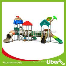 Anpassen Design Kinder Outdoor & Indoor Garten Spielplatz Ausrüstungen mit Rutsche