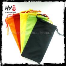 Novo produto china para venda caixa de óculos, bolsa de couro, bolsa de telefone celular de microfibra