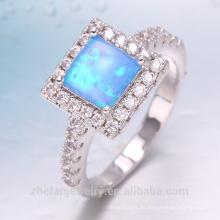 anillo de plata del ópalo de la joyería de oro dubai