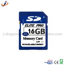 OEM plena capacidade real 16GB cartão de memória SD (jsd019)