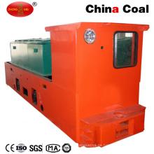 Locomotora de batería ignífuga minería de carbón Cay8