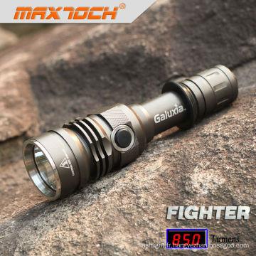 Lampe tactique LED Maxtoch FIGHTER 18650 crie extérieure U2