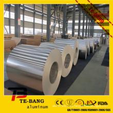 Molino acabado / color revestido / repujado / bobina de aluminio / rollo de bobina de aluminio stock
