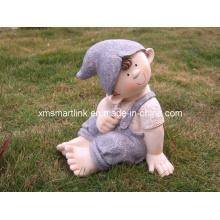 Polyresin Sculpture Garden Doll Decoration Crafts