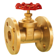 J00106 Forged Brass Gate Valve Flanged