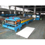 7.5Kw Glazed Tile Roll Forming Machine Roof Panel Forming L