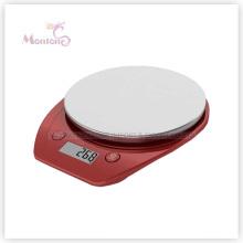Escala da cozinha da exposição do LCD da precisão 5kg / 1g (20 * 16 * 2.8cm)