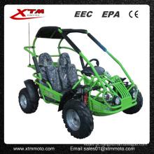 China 2 assento 80cc crianças motor vai Kart