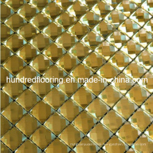 Yellow Mirror Mosaic Tile Diamond Mosaic (HD037)