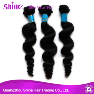 Top Malaysian Loose Wave Hair Bunldles Extension
