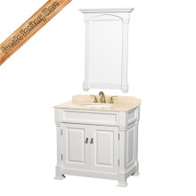 Solid Wood Vintage Style Bathroom Classical Bathroom Vanity