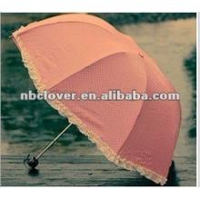 2012 neuer Qualitätsfaltender Regenschirm zwei faltender Regenschirm
