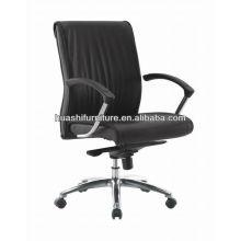 H625B komfortabler Bürostuhl aus echtem Leder