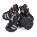 PU Leather Durable Dog Boots
