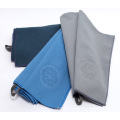Custom Personalized Gym Towel With Zip Pocket, microfiber gym towel, microfiber sports towel