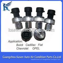 Auto ac interruptor de pressão e sensor para nissan e sensor de pressão e pressostato para Buick Cadilla Fiat Chevrolet Opel