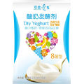 Uso probiótico de yogur saludable