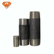 EN10241 Double Threads Carbon Steel Barrel Pipe Nipples