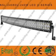 Barre lumineuse LED CREE 40′′ 240W conduite hors route, barre lumineuse LED spot/faisceau d'inondation