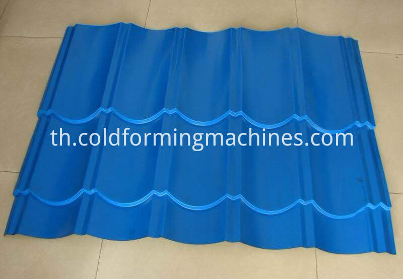 Glazed Tile Roofing Sheet