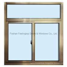 Many Styles Aluminium Sliding Window Builtin Multi Locking Points (FT-W80)