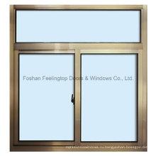 Многие стили алюминиевые раздвижные окна, Встроенные Мульти точек запирания (фут-W80)