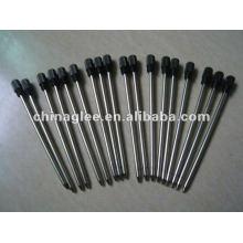recharges de stylo à bille à rotation en métal