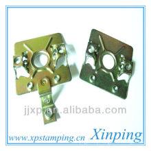 Chapa de niquelar de aço peça de molde de estampagem elétrica para termostato