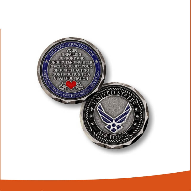 Wholesale Custom Military Challenge Coins Gold Silver Coins