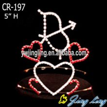 En forma de corazón Holiday Wholesale Valentine's Day Crowns