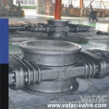 2′′-48′′ Flanged R. F Through Conduit Slab Gate Valve