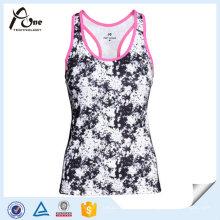 Atacado Lady Gym Singlets Fitness Wear