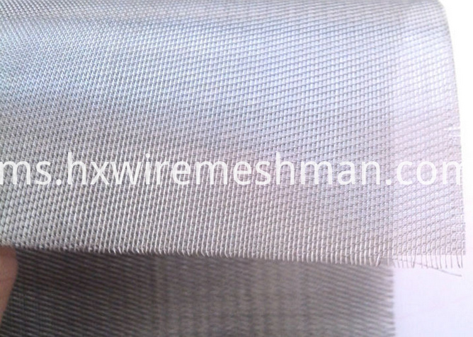five heddle weave wire cloth
