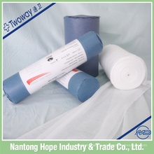 Nantong medical supplies 100% coton rouleau d'oreiller en gaze médicale