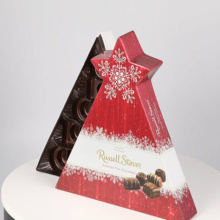 Triangle Tree avec Star Paper Box pour le chocolat